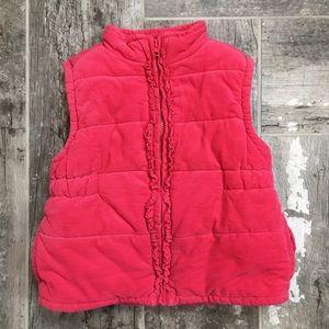 Crazy 8 girls size 12  - 24 month corduroy vest